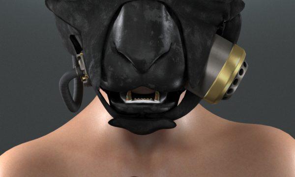 AZOURY - Delirium Mask.