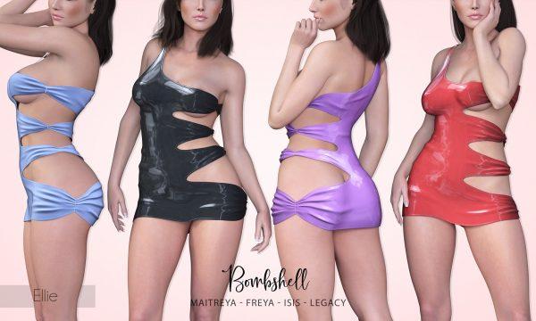 Bombshell - Ellie Dress.