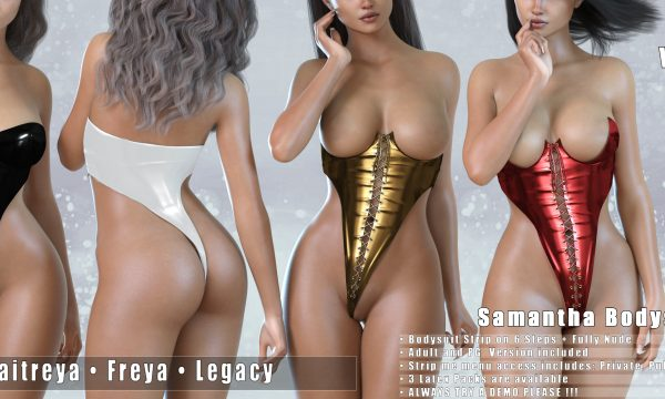 Vanilla Bae - Samantha Bodysuit.
