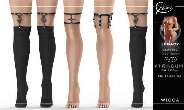 cult - Wicca Socks and Garters. L$269. Demo Available ★.