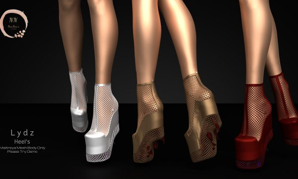 NaaNaa's - Lydz Heel. Individual L$250 each | Fatpack L$999. Demo Available ★.