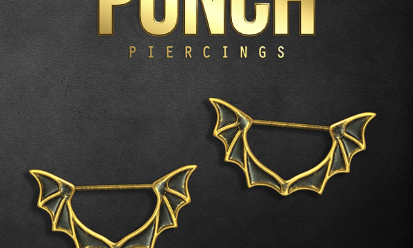 PUNCH - Bat Wings Nipple Piercings. L$350. Demo Available ★.