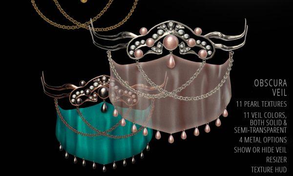 Rise Design - Obscura Veil. L$399.