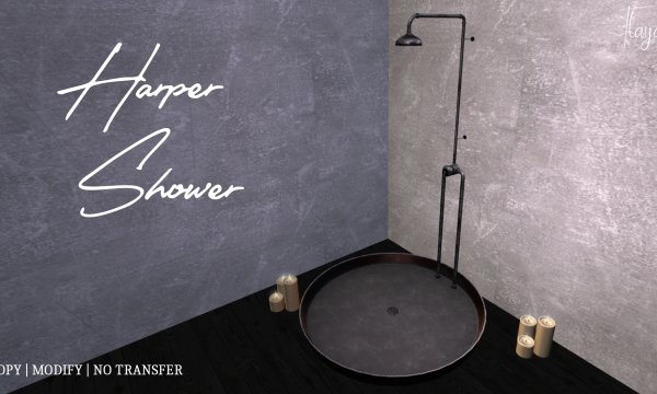 [ILAYA] - Harpers Shower. PG L$299 | Adult L$399.