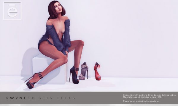 Ohemo - Gwyneth Sexy Heels. L$299 Demo Available ★.