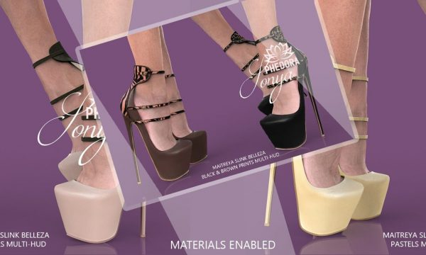 phedora - Sonya Heels. Mini Packs L$199 | Fatpack L$399 | Megapack L$599 Demo Available ★.